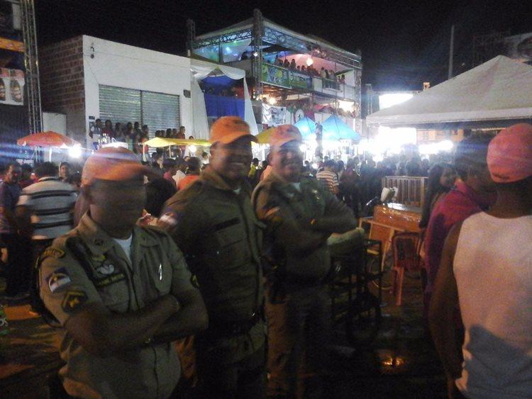 De acordo com o comando do 5o BPM, o policiamento destacado para a Caprishow cumpriu com a missão de contribuir para uma festa tranquila/Foto: Assessoria