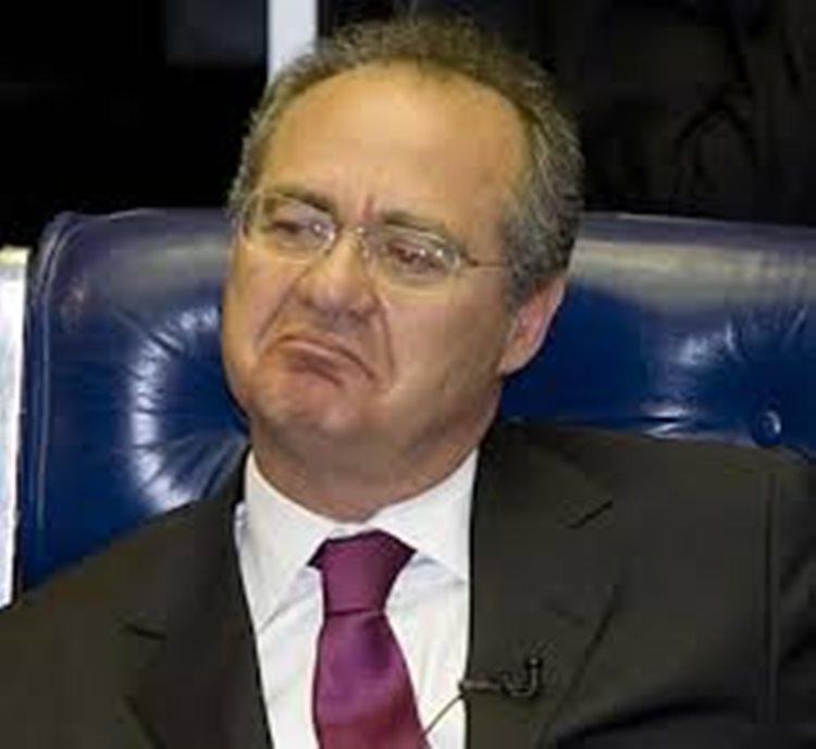 Se a Corte determinar, Renan (foto) e Jucá só podem ser mantidos presos após aprovação do plenário da Casa/Foto:reprodução internet