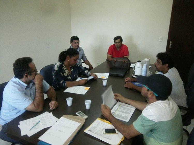 O Sindsemp articulou, junto ao gabinete da vereadora Cristina Costa, uma reunião com os motoristas do SAMU/Foto: assessoria