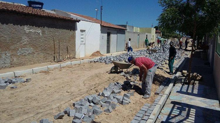 Obras estão em andamento e devem ser entregues à população em breve/Foto:ASCOM