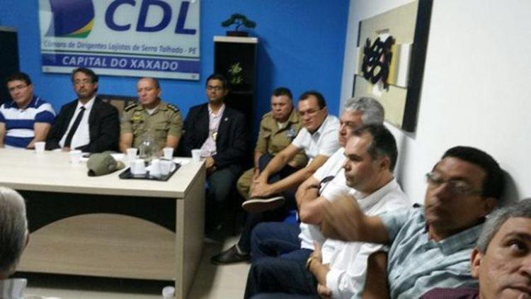 O objetivo do encontro foi o de discutir iniciativas que contribuam para a redução da criminalidade no município/Foto:Reprodução
