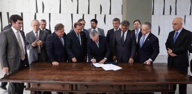 Presidente em exercício pediu confiança aos brasileiros/Foto: Marcos Correia
