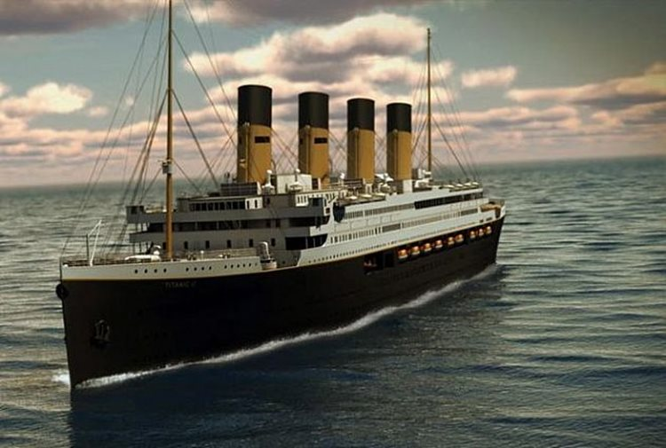 A réplica da embarcação que naufragou em 15 de abril de 1912 será fiel a original, mas sofrerá algumas pequenas alterações devido às mudanças da legislação náutica que ocorreu no último século/Imagem:reprodução internet