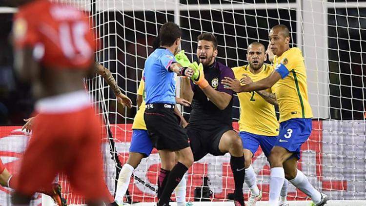 Brasil perde para o Peru