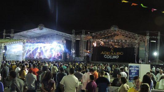 O São João do Vale 2016 está oficialmente aberto. (Foto: Waldiney Filho)