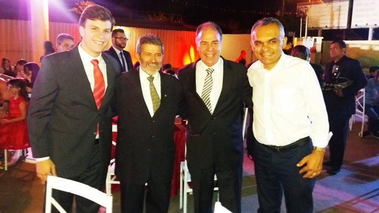 Fernando, Gonzaga, Miguel Coelho, Odacy Amorim