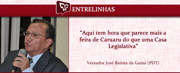 José Batista da Gama - Entrelinhas