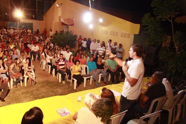 O material levantado durante as agendas tem sido base para a elaboração das propostas que os socialistas pretendem apresentar neste ano /Foto: André Santos