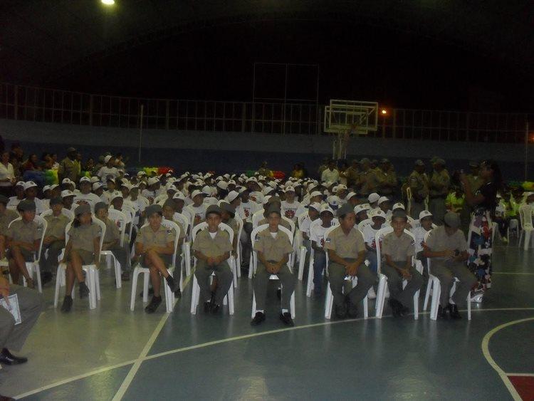 O programa, que inclui a orientação de alunos de 8 a 16 anos, em ambiente escolar, ministrada pelo Grupo de Prevenção (GPREV) da Polícia Militar, tem duração de três meses/Foto:internet