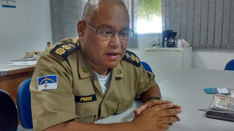 """""""Polícia tem que estar junto do povo, da sociedade,participando de reuniões, indo para as escolas, escolhendo territórios mais sensíveis"""", destaca tenente coronel Ricardo Peres/Foto: Blog WP"""