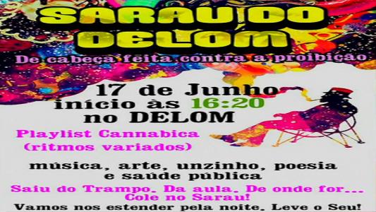 cartaz que está circulando pela internet e que convida a população para o evento. (Foto: Internet)