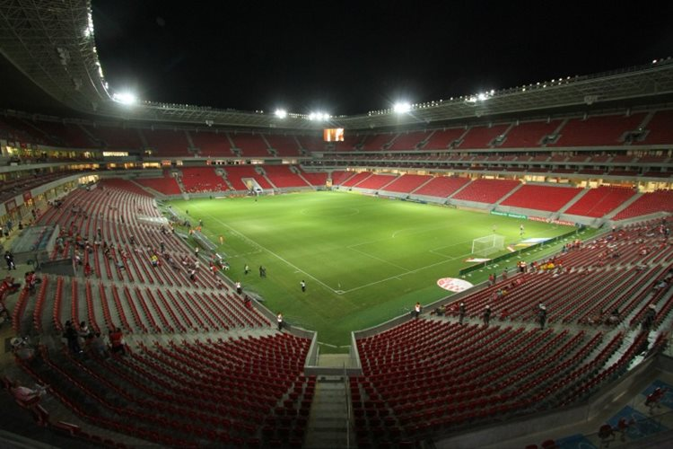 O estádio de São Lourenço da Mata está na rota da seleção de vôlei para um jogo depois das Olimpíadas/Foto:Guga Matos