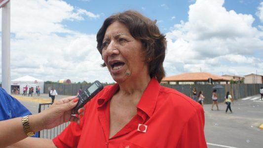Ex-deputada Isabel Cristina encontra-se internada em estado grave. (Foto: Reprodução Internet)