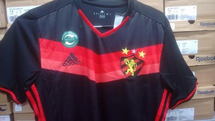 A diretoria do clube não confirma a camisa nova. Prefere esperar o pronunciamento oficial da Adidas/Foto: reprodução