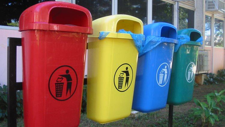 coleta de lixo seletiva