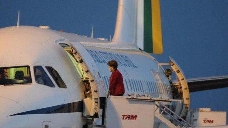 dilma aeronave