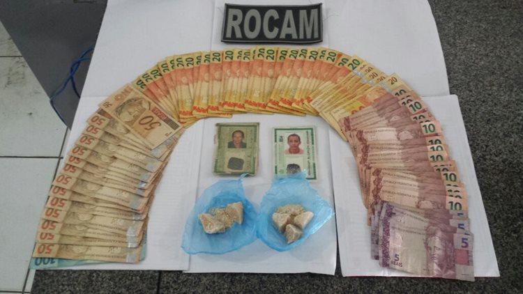 droga e dinheiro
