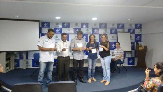 Participação no curso de capacitação professores amigos do trânsito. (Foto: Reprodução/ASCOM)