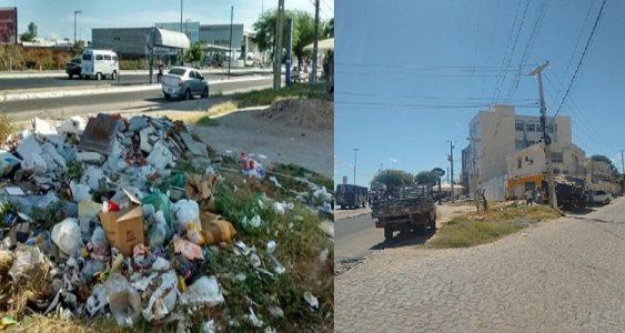 Retirada de lixo (Foto:Blog Waldiney Passos)