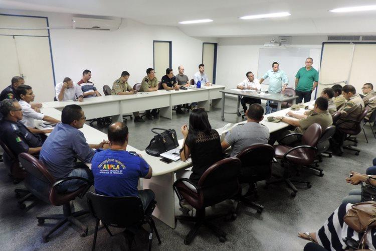 Sugestões para melhorias do tráfego nas imediações do local da festa também foram discutidas/Foto: ASCOM
