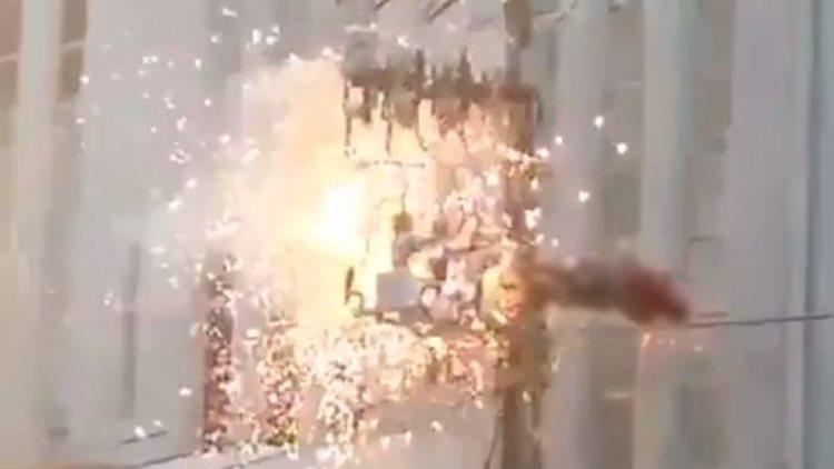 Homem-sobe-em-poste-e-morre-eletrocutado-durante-ato-de-Dilma-Rousseff-1