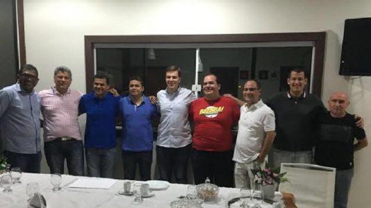 REDE formaliza apoio ao pré-candidato Miguel Coelho. (Foto: ASCOM)