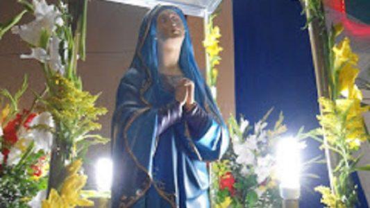Imagem da santa Nossa Senhora das Dores. (Foto: ASCOM)