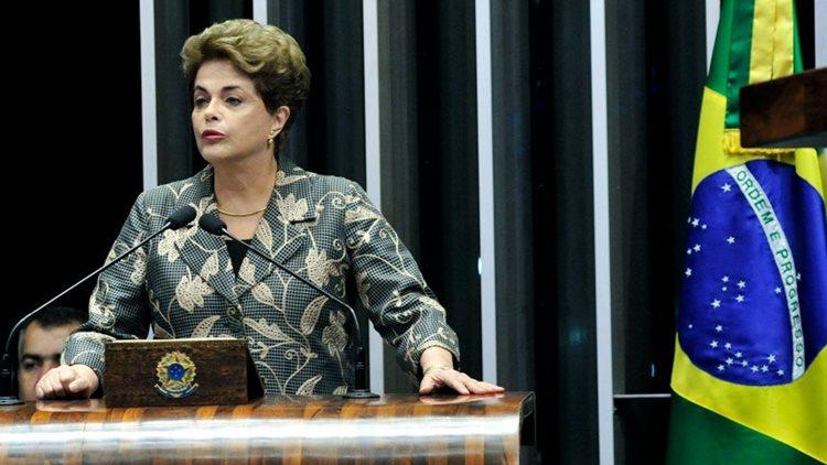 Dilma discurso Senado