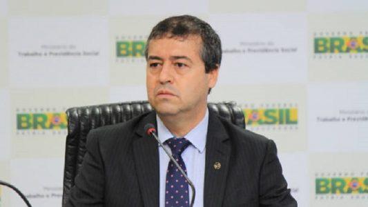Minsitro do Trabalho, Ronaldo Nogueira, na abertura da Reunião da Comissão Tripartite de Relações Internacionais à Conferência da OIT.  (Foto: Ricardo Vieira / ASCOM/MTE)