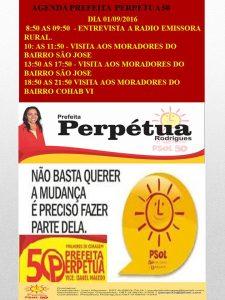 AGENDA PSOL 50. DIA 01-09