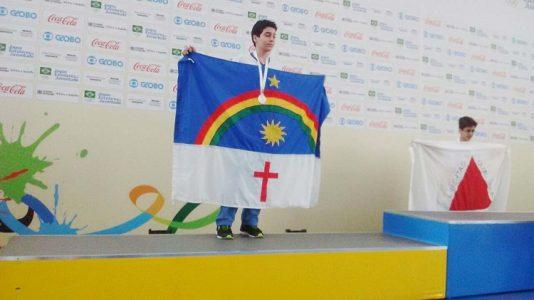 Nestes Jogos Escolares da Juventude, o aluno petrolinense competiu com outros 26 estudantes, da categoria de 12 a 14 anos, pelas medalhas de ouro, prata e bronze./ Foto: divulgação