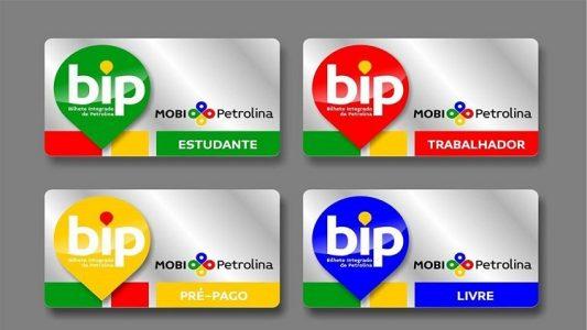 Cartões Bip
