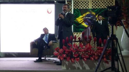 O advogado, jurista, ex-procurador da República e ex-presidente do Supremo Tribunal Federal, Dr. Joaquim Barbosa, apresentou uma palestra no dia da abertura do evento./ Foto: divulgação