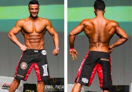 Neste ano,  o atleta disputou o Campeonato Estreantes Baiano,  onde recebeu o título de campeão./ Foto: Ascom