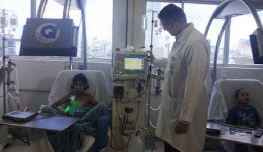 Foram instaladas oito cadeiras com monitores para promover a recreação dos pacientes infanto-juvenis em tratamento no setor./ Foto: Ascom