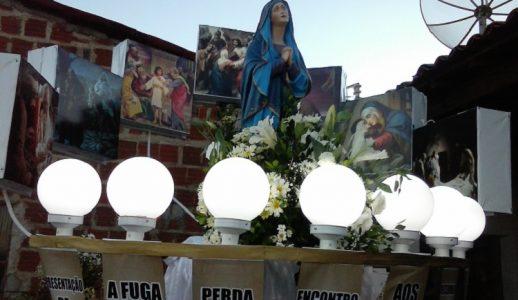 O festejo inicia nesta segunda (03) e termina no próximo dia 15. / Foto: Ascom