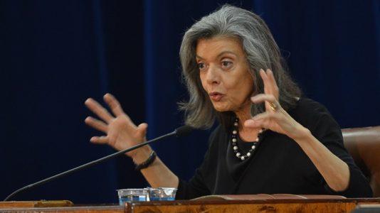 A ministra do STF, Cármen Lúcia Antunes Rocha participa da abertura do 7º Fórum Liberdade de Imprensa & Democracia (Antonio Cruz/Agência Brasil)