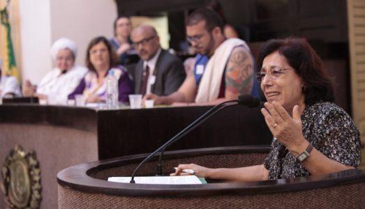 Em audiência pública os representantes religiosos chamaram atenção para a atualidade do tema, e posicionaram-se em favor de garantias à liberdade individual de culto. (Foto: Alepe)