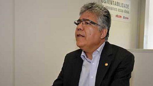 O reitor Anísio Brasileiro. (Foto: Clemilson Campos)
