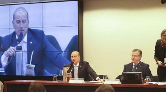 Brasília - O deputado Onix Lorenzoni, durante reunião da Comissão Especial da Câmara que analisa o projeto das 10 medidas contra a corrupção (PL 4850/16)  (Antonio Cruz/Agência Brasil)