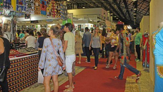 A feira recebe visitantes desde a última sexta-feira (04). / Foto: divulgação