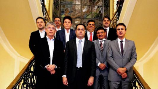 O grupo teve como representante o governador de Pernambuco, Paulo Câmara (Foto: divulgação)