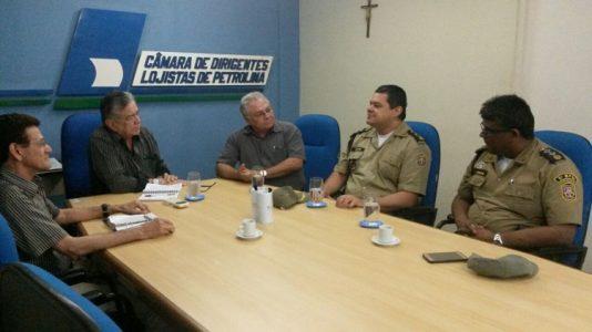 A Operação Papai Noel visa dar mais segurança  no Centro da cidade./ Foto: Ascom