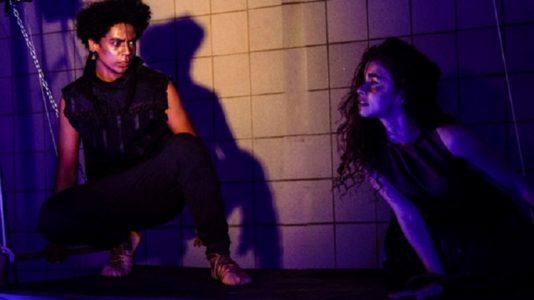 O espetáculo foi criado pela companhia após uma imersão de dois anos de pesquisa sobre a lenda de Tristão e Isolda (Foto: Lara Micol)