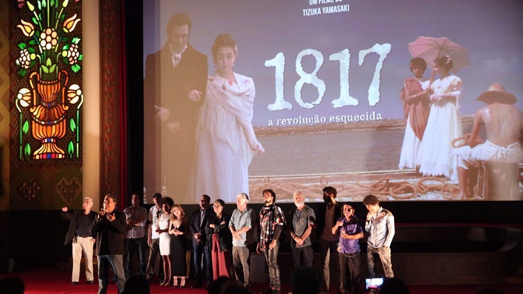 Filme 1817 – A Revolução Esquecida estreia com sucesso em
